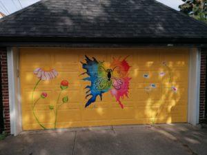 Inauguration du projet de murales «Butterfly Lane» à Walkerville